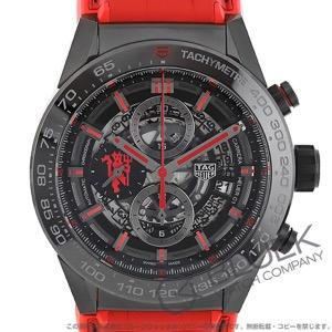 タグホイヤー カレラ ホイヤー01 マンチェスター・ユナイテッド スペシャルエディション クロノグラフ 腕時計 メンズ TAG Heuer CAR2A1J.FC6416