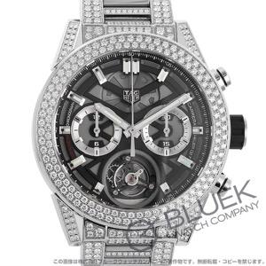 タグホイヤー カレラ ホイヤー02T トゥールビヨン クロノグラフ ダイヤ 腕時計 メンズ TAG Heuer CAR5A1Z.BA0510