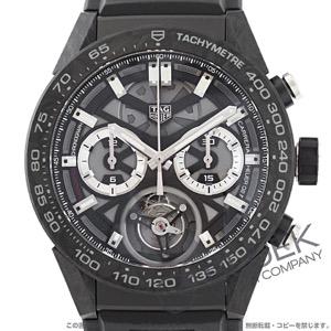 タグホイヤー カレラ ホイヤー02T トゥールビヨン COSC クロノグラフ 腕時計 メンズ TAG Heuer CAR5A8W.FT6071