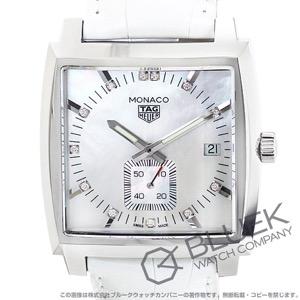 タグホイヤー モナコ ダイヤ アリゲーターレザー 腕時計 メンズ TAG Heuer WAW131B.FC6247