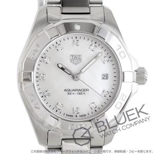 タグホイヤー アクアレーサー 300m防水 ダイヤ 腕時計 レディース TAG Heuer WBD1414.BA0741