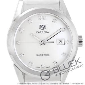 タグホイヤー カレラ ダイヤ アリゲーターレザー 腕時計 レディース TAG Heuer WBG1312.FC6412