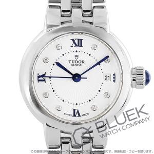 チューダー クレア・ド・ローズ ダイヤ サテンレザー 腕時計 レディース TUDOR 35200