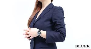 ティファニー マーク ダイヤ サテンレザー 腕時計 レディース TIFFANY Z0046.17.10B90A40A