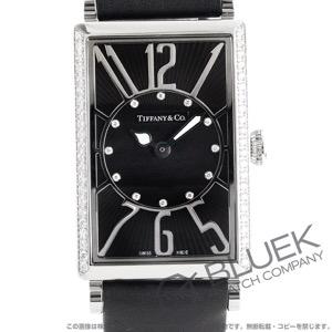 ティファニー ギャラリー ダイヤ サテンレザー 腕時計 レディース TIFFANY Z3001.10.10E10C68A