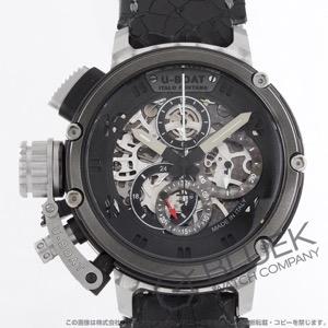 ユーボート キメラ スケルトン 世界限定88本 クロノグラフ 腕時計 メンズ U-BOAT 8028