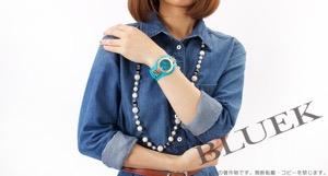 ヴェルサーチ V-シグネチャー ダイヤ 腕時計 レディース VERSACE VLA080014