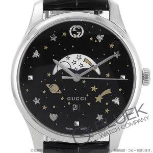 グッチ Gタイムレス ムーンフェイズ アリゲーターレザー 腕時計 ユニセックス GUCCI YA126327