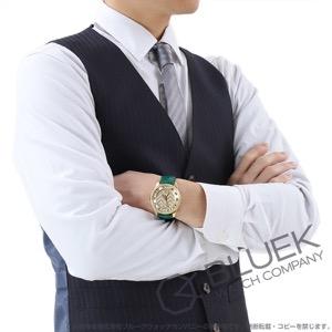 グッチ エリクス GMT アリゲーターレザー 腕時計 メンズ GUCCI YA126341
