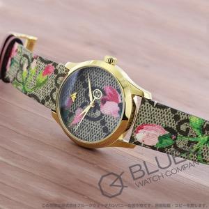 グッチ Gタイムレス GGブルームズ 腕時計 ユニセックス GUCCI YA1264038A