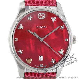 グッチ Gタイムレス リザードレザー 腕時計 レディース GUCCI YA1264041