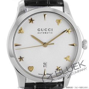 グッチ Gタイムレス アリゲーターレザー 腕時計 メンズ GUCCI YA126468