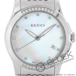 グッチ Gタイムレス ダイヤ 腕時計 レディース GUCCI YA126510