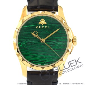 グッチ Gタイムレス アリゲーターレザー 腕時計 レディース GUCCI YA126558