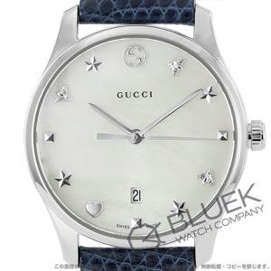 グッチ Gタイムレス リザードレザー 腕時計 レディース GUCCI YA126588