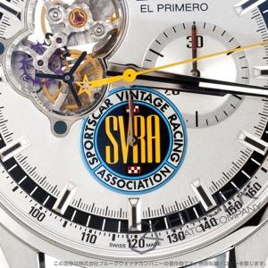 ゼニス エル プリメロ クロノマスター オープン 1969 SVRA 世界限定100本 クロノグラフ アリゲーターレザー 腕時計 メンズ Zenith 03.20411.4061/07.C776