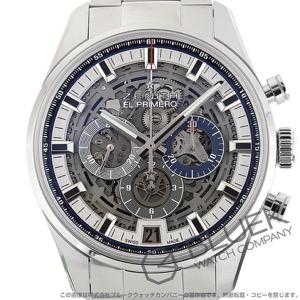 ゼニス エル プリメロ クロノマスター フルオープン クロノグラフ 腕時計 メンズ Zenith 03.2081.400/78.M2040