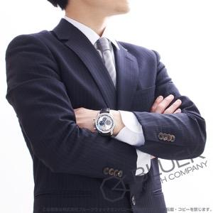 ゼニス エル プリメロ クロノマスター 36000VpH クロノグラフ アリゲーターレザー 腕時計 メンズ Zenith 03.2520.400/69.C713