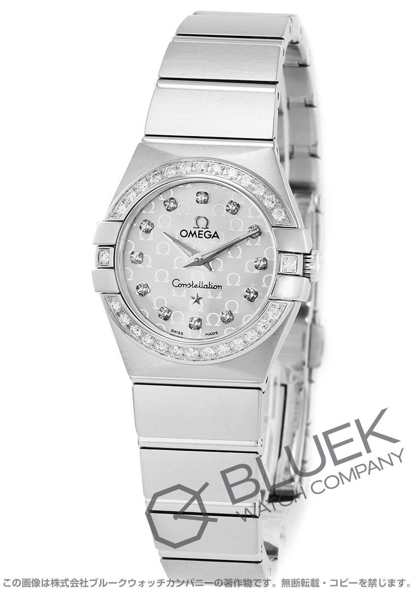 brand new 433ef 3a6c2 オメガ コンステレーション ブラッシュ ダイヤ 腕時計 ...