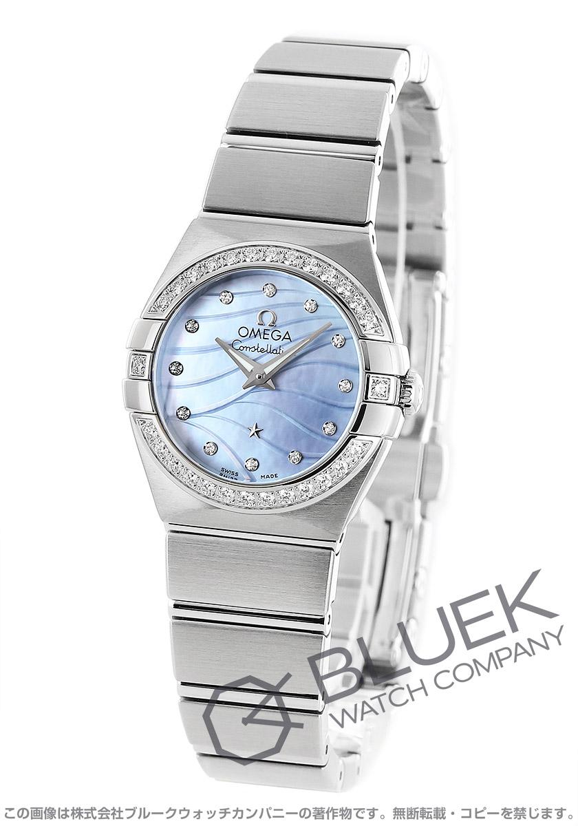オメガ コンステレーション ブラッシュ ダイヤ 腕時計 レディース OMEGA 123.15.24.60.57.001