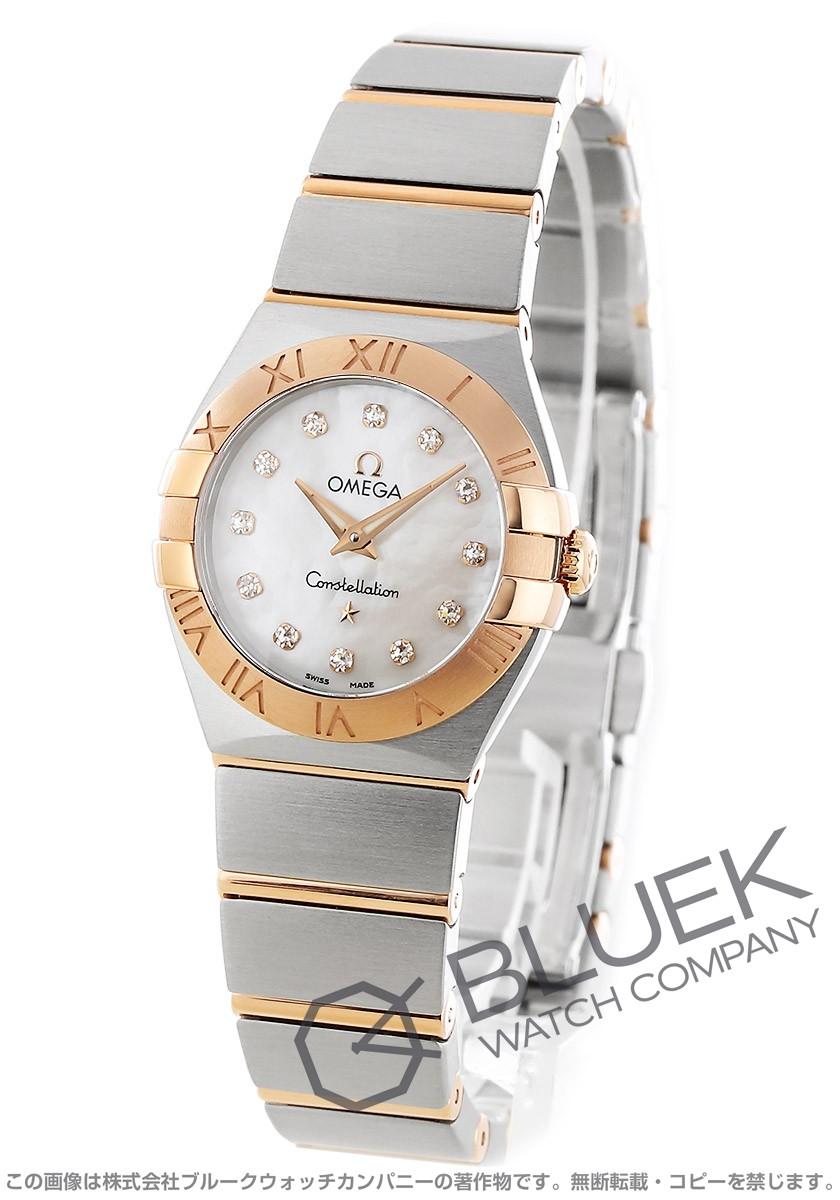 オメガ OMEGA 腕時計 コンステレーション ブラッシュ ダイヤ レディース 123.20.24.60.55.001