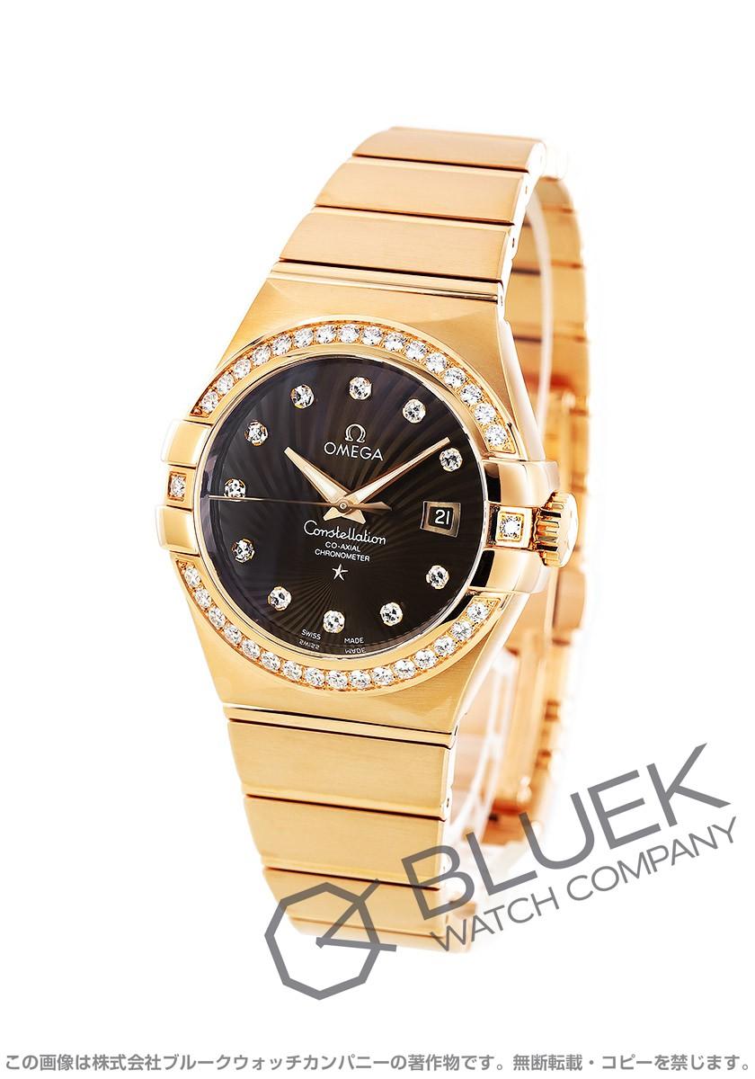 オメガ コンステレーション ブラッシュ ダイヤ RG金無垢 腕時計 レディース OMEGA 123.55.31.20.63.001