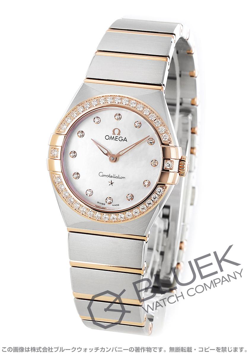 オメガ コンステレーション ダイヤ 腕時計 レディース OMEGA 131.25.28.60.55.001