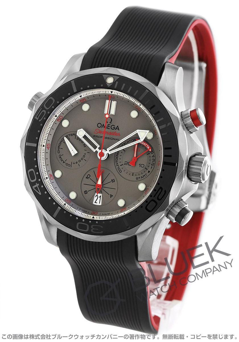 オメガ シーマスター クロノグラフ ETNZ 300m防水 腕時計 メンズ OMEGA 212.92.44.50.99.001