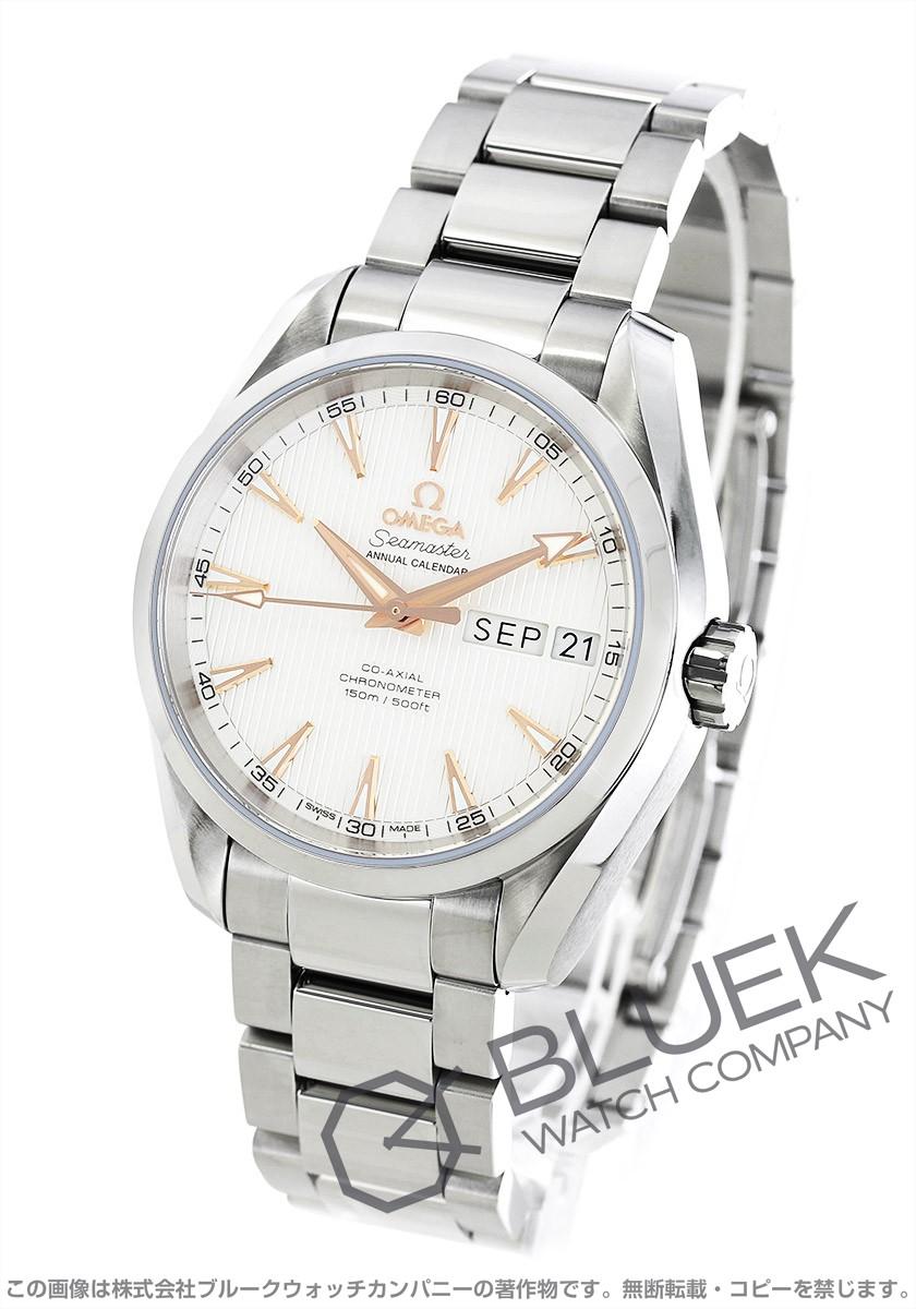 オメガ シーマスター アクアテラ アニュアルカレンダー 腕時計 メンズ OMEGA 231.10.39.22.02.001
