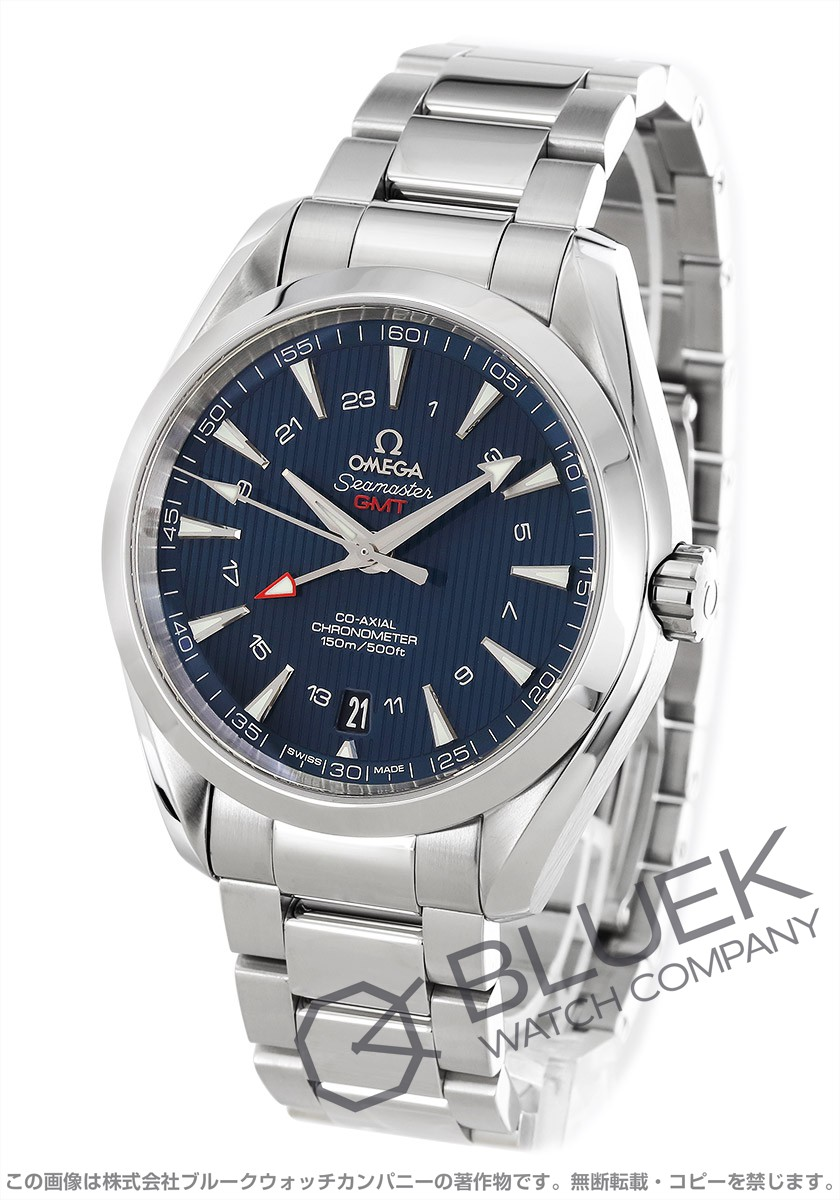 オメガ シーマスター アクアテラ GMT 腕時計 メンズ OMEGA 231.10.43.22.03.001