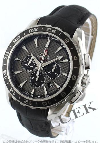 low priced ed682 d1267 オメガ シーマスター アクアテラ クロノグラフ GMT 腕時計 ...