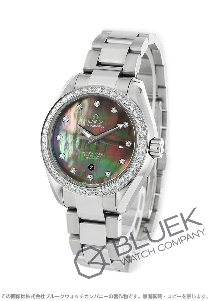 オメガ シーマスター アクアテラ ダイヤ 腕時計 レディース OMEGA 231.15.34.20.57.001