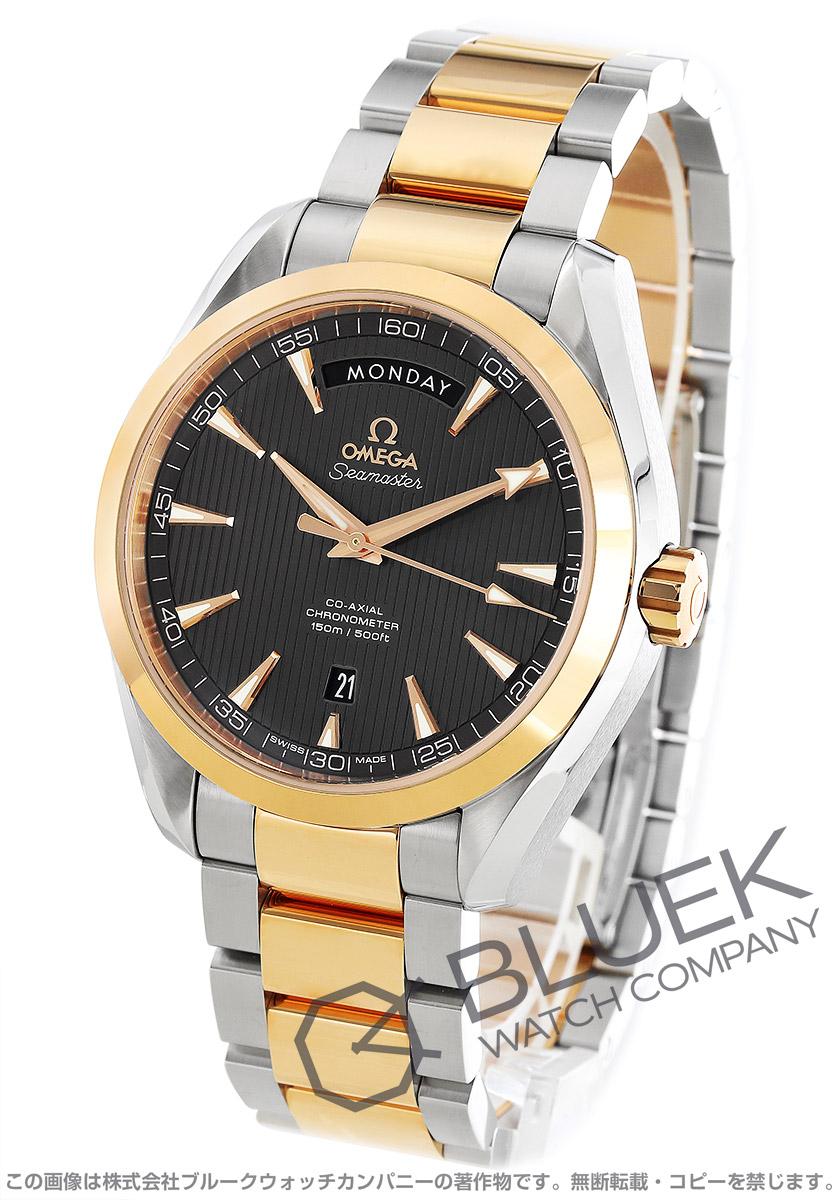 オメガ シーマスター アクアテラ デイデイト 腕時計 メンズ OMEGA 231.20.42.22.06.001