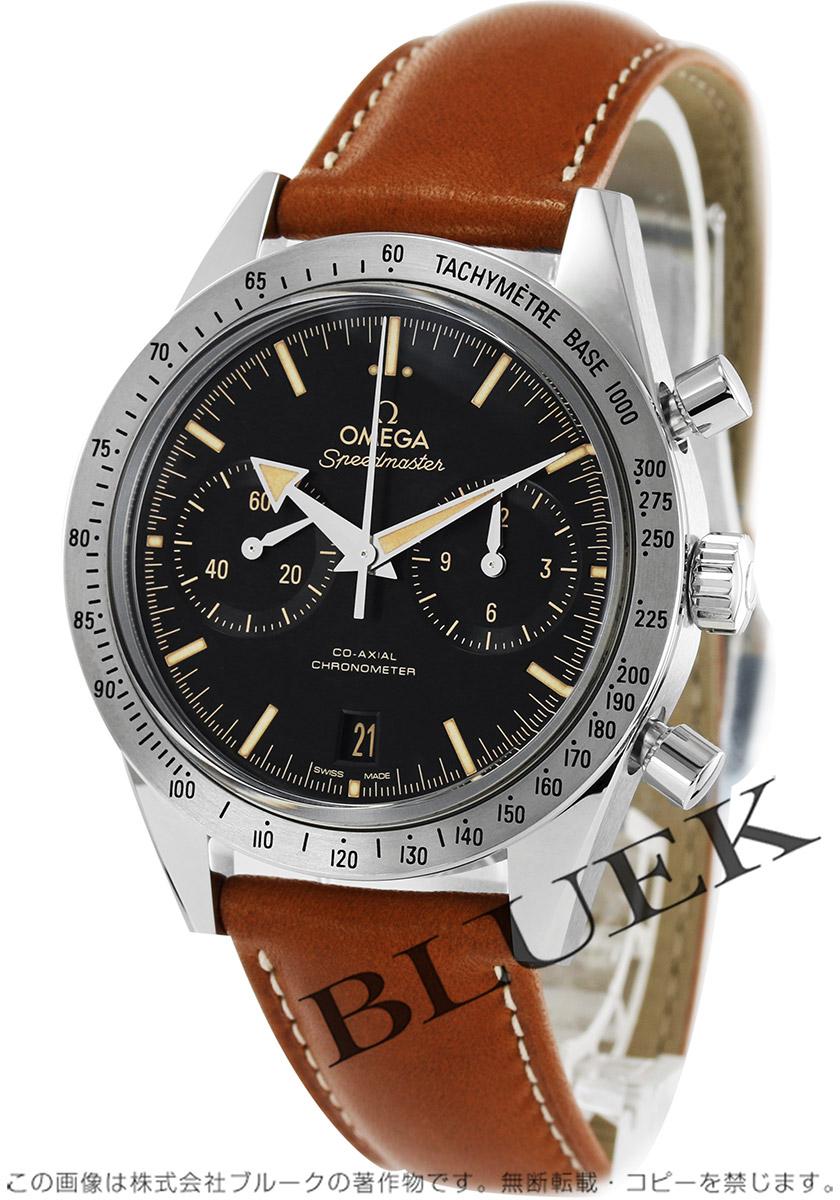 3b47f52a7b8b オメガ スピードマスター 57 クロノグラフ 腕時計 メンズ OMEGA 331.12.42.51.01.002