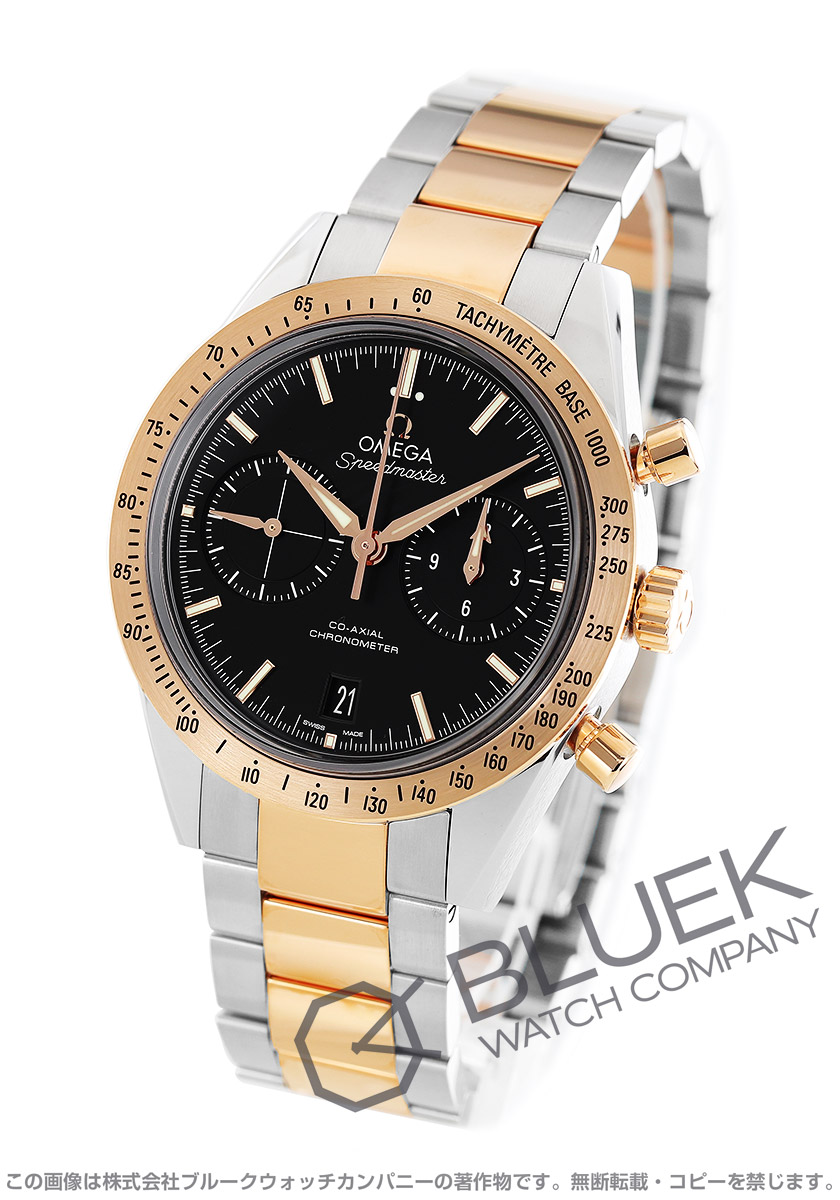 bf0faa77669b オメガ スピードマスター 57 クロノグラフ 腕時計 メンズ OMEGA 331.20.42.51.01.002