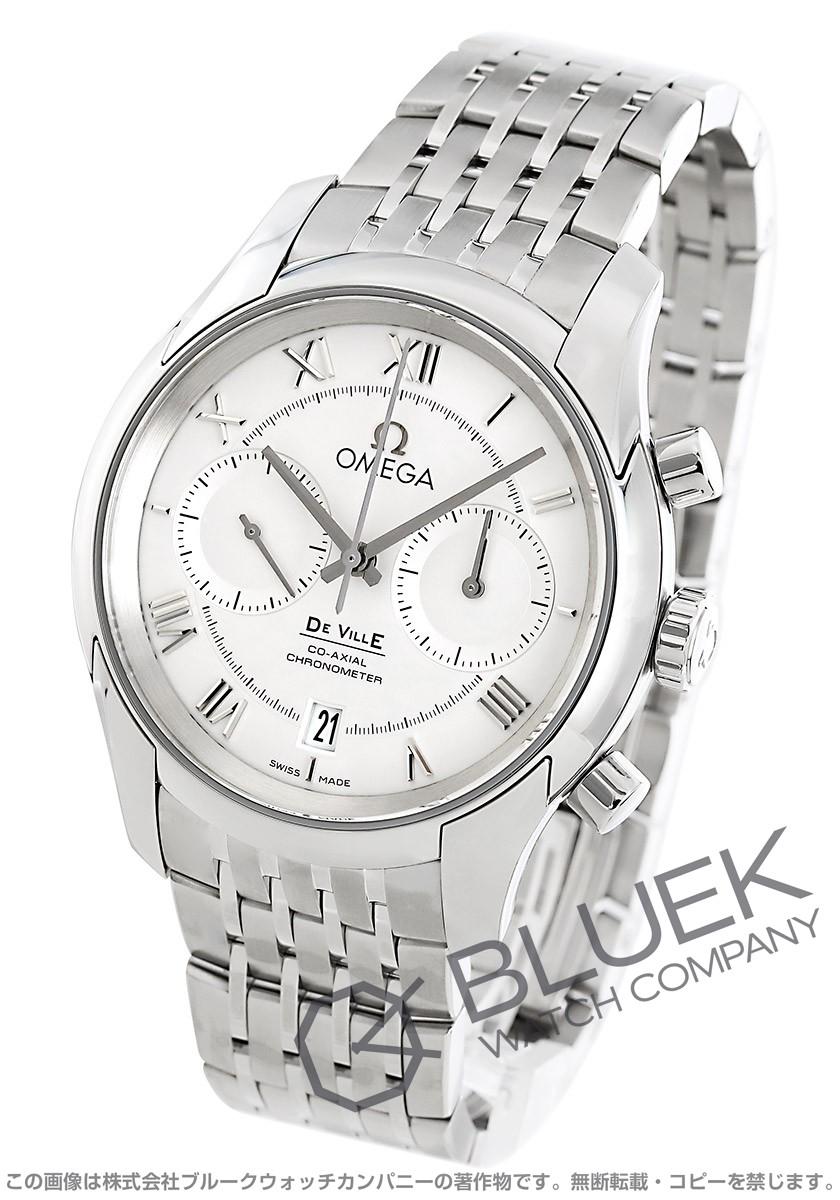 オメガ デビル コーアクシャル クロノグラフ 腕時計 メンズ OMEGA 431.10.42.51.02.001