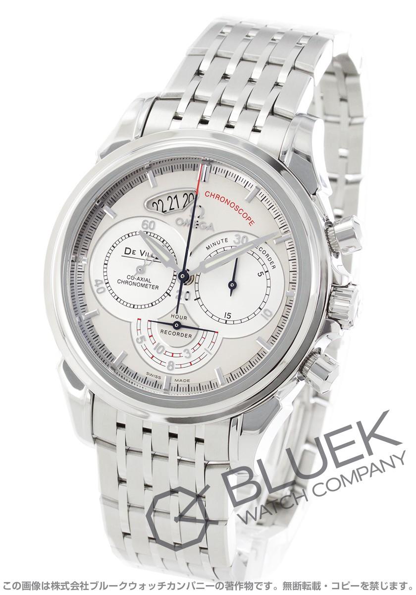 オメガ OMEGA 腕時計 デビル コーアクシャル クロノスコープ メンズ 4550.30