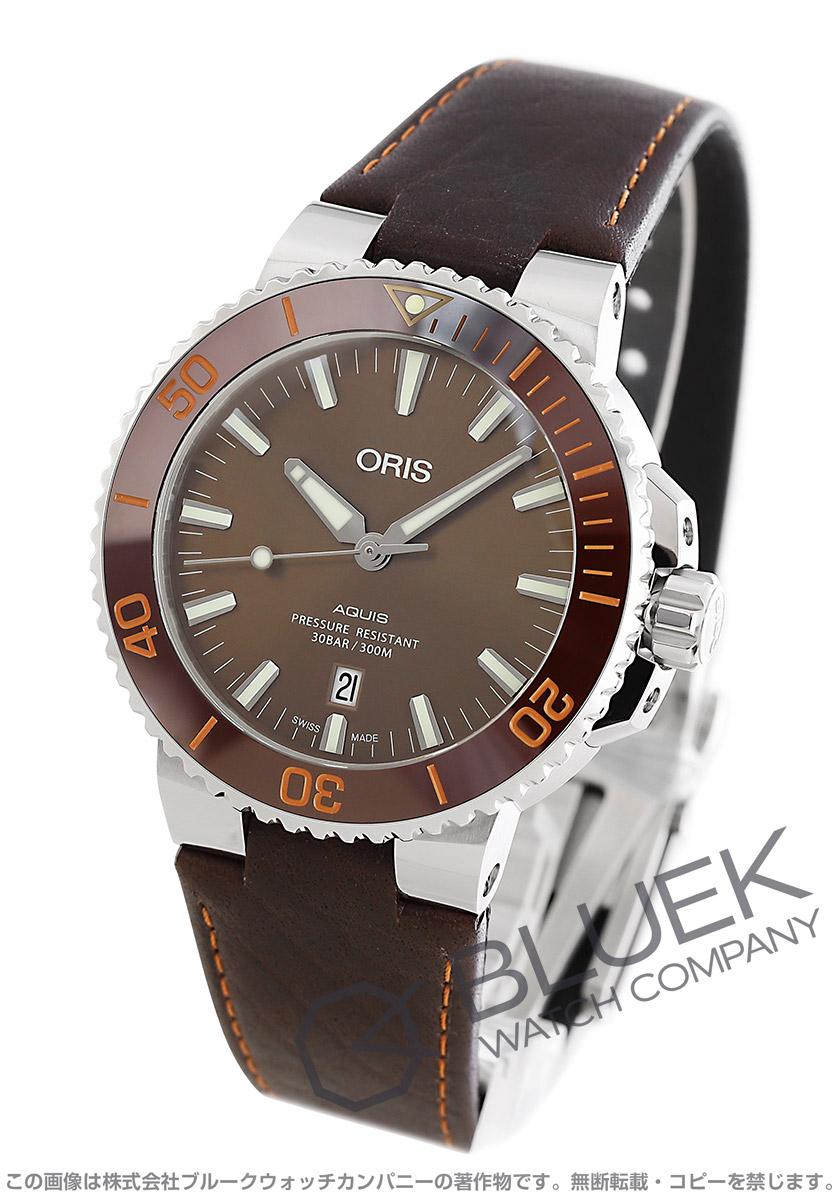 オリス アクイス デイト 300m防水 腕時計 メンズ ORIS 733 7730 4152F