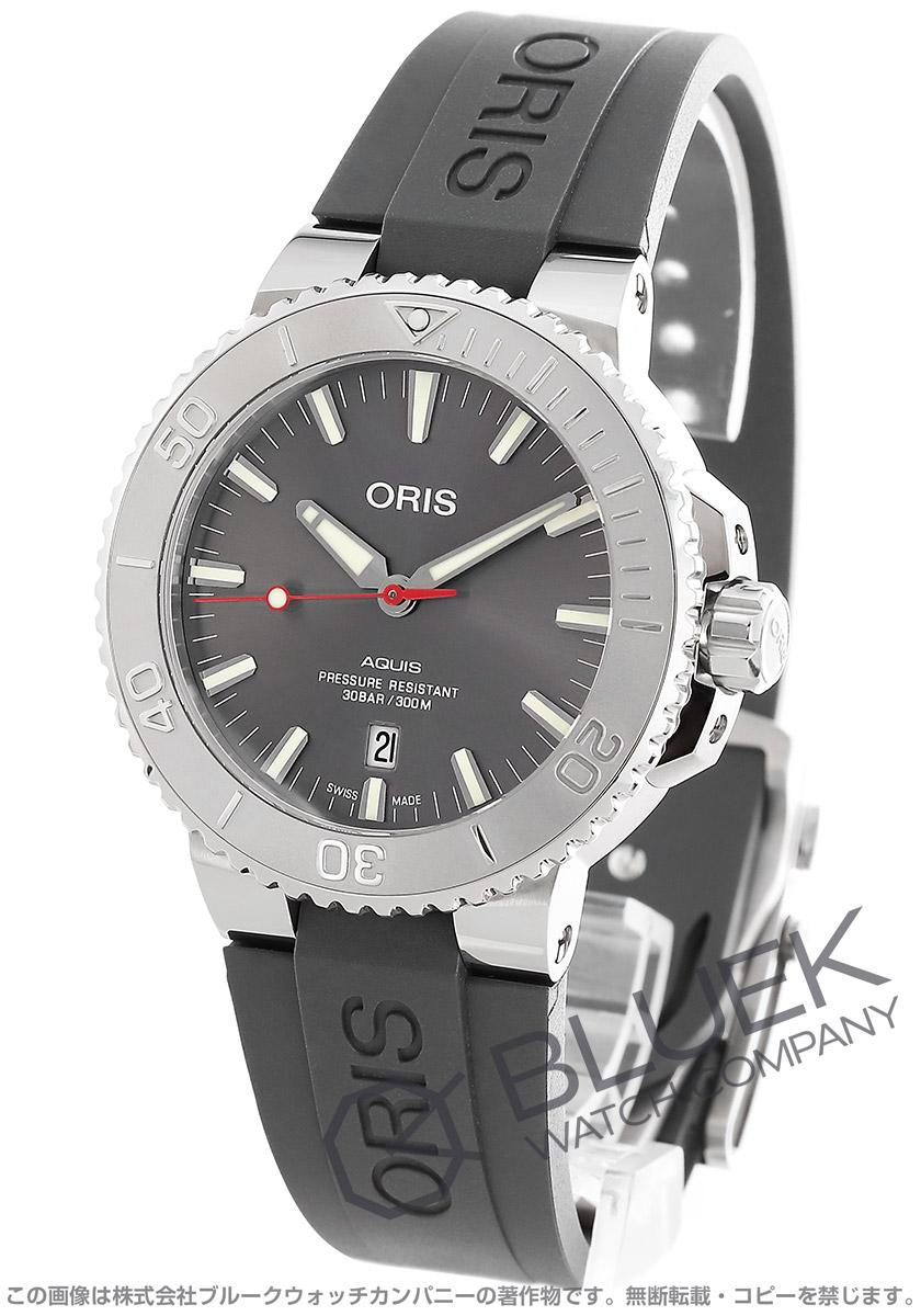 オリス アクイス デイト レリーフ 300m防水 腕時計 メンズ ORIS 733 7730 4153R