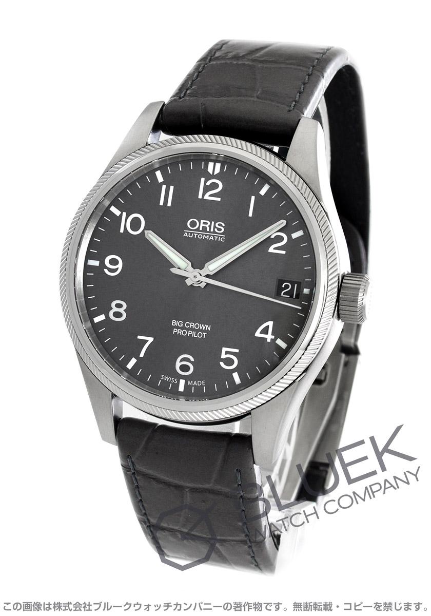 オリス ビッグクラウン プロパイロット 腕時計 メンズ ORIS 751 7697 4063DLGY
