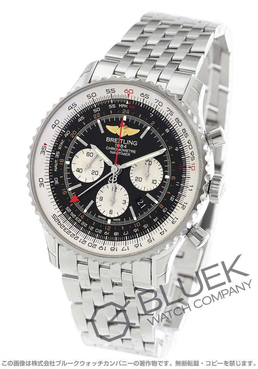 buy online 9bc43 d0992 ブライトリング ナビタイマー GMT クロノグラフ 腕時計 メンズ BREITLING A044B24NP_8