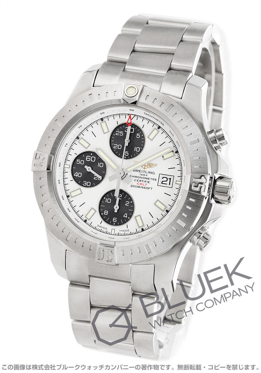 ブライトリング コルト クロノグラフ 腕時計 メンズ BREITLING A181G04PCS