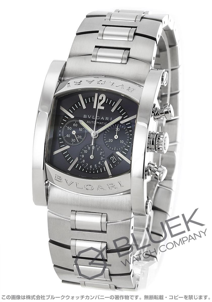 ffe7ef5755 ブルガリ アショーマ クロノグラフ 腕時計 メンズ BVLGARI AA44C14SSDCH
