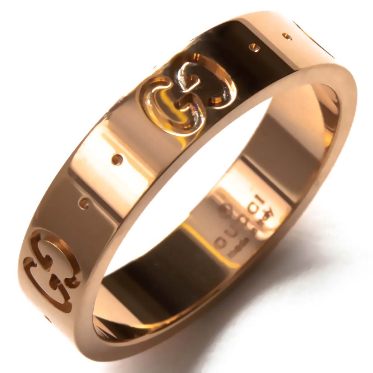 d553765f53c9 グッチ リング【指輪】 アクセサリー メンズ レディース GGアイコン ピンクゴールド 152045 J8500 5702 GUCCI