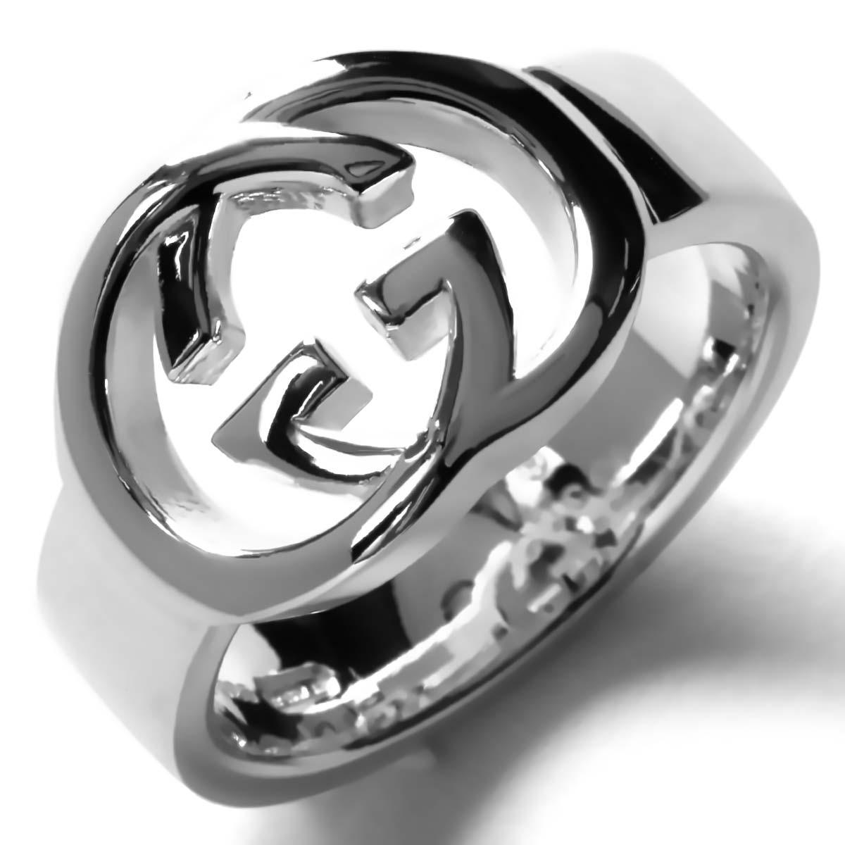 b9fbc178a38a グッチ リング【指輪】 アクセサリー メンズ レディース インターロッキングG シルバー 190483 J8400 8106 GUCCI