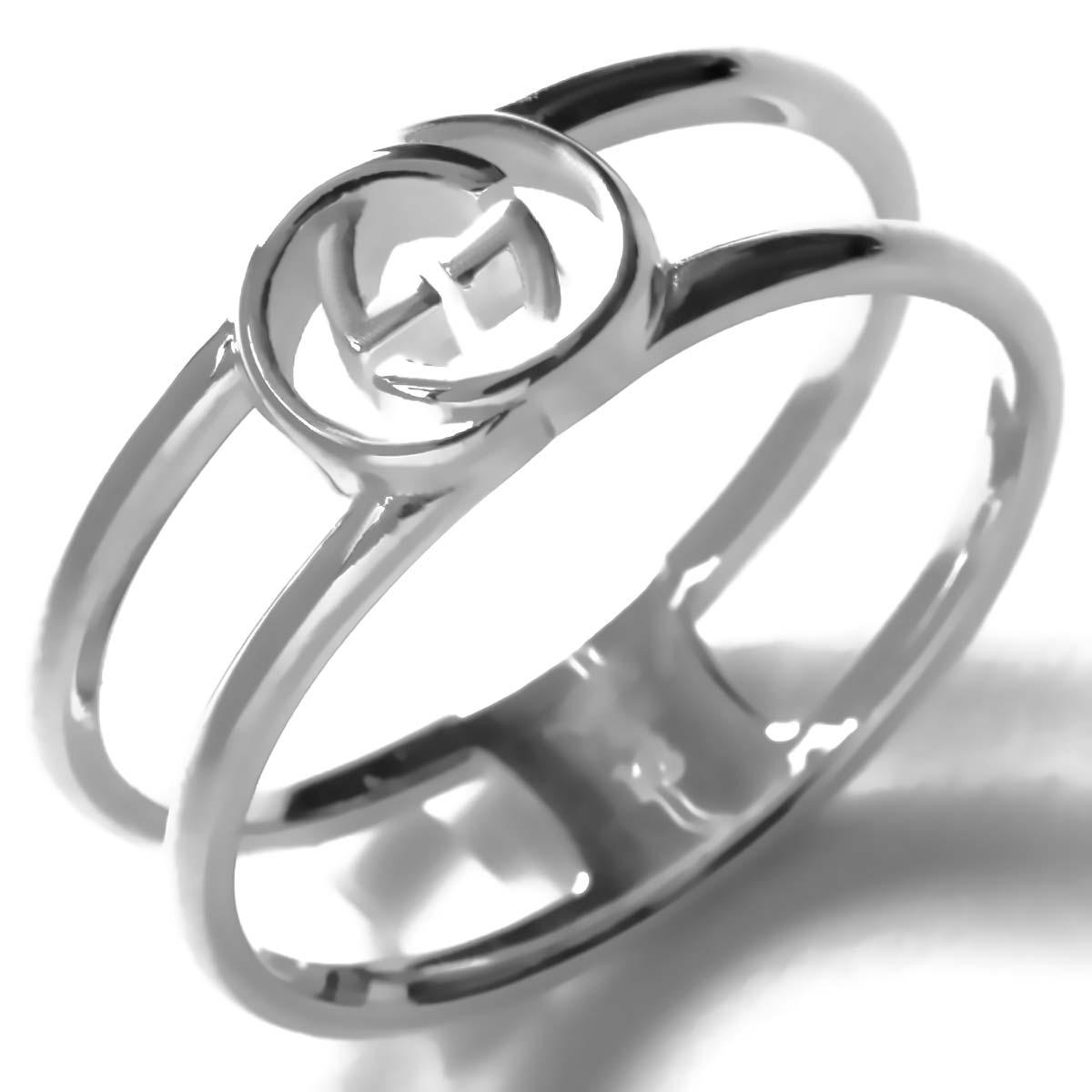 61f81f8c52ea グッチ リング【指輪】 アクセサリー メンズ レディース インターロッキングG シルバー 298036 J8400 8106 GUCCI