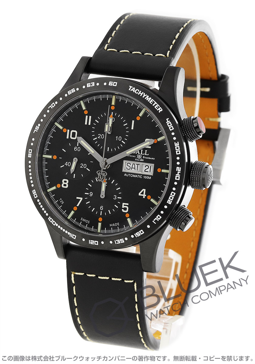 ボールウォッチ ストークマン ストームチェイサー DLC 世界限定1999本 クロノグラフ 腕時計 メンズ BALL WATCH CM2192C-L6J-BK