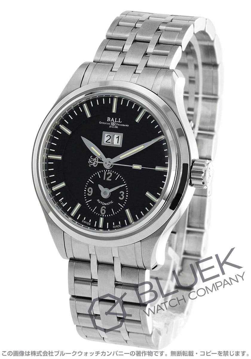 ボールウォッチ トレインマスター ファーストフライト 限定600本 デュアルタイム 腕時計 メンズ BALL WATCH GM1056D-S2J-BK