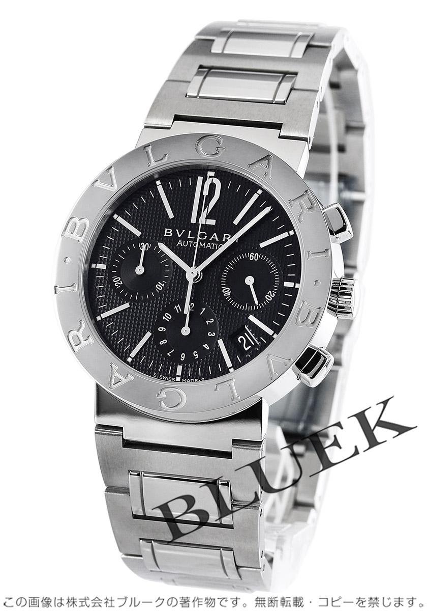 0d6c063c07a3 ブルガリ ブルガリブルガリ クロノグラフ 腕時計 メンズ BVLGARI BB38BSSDCH