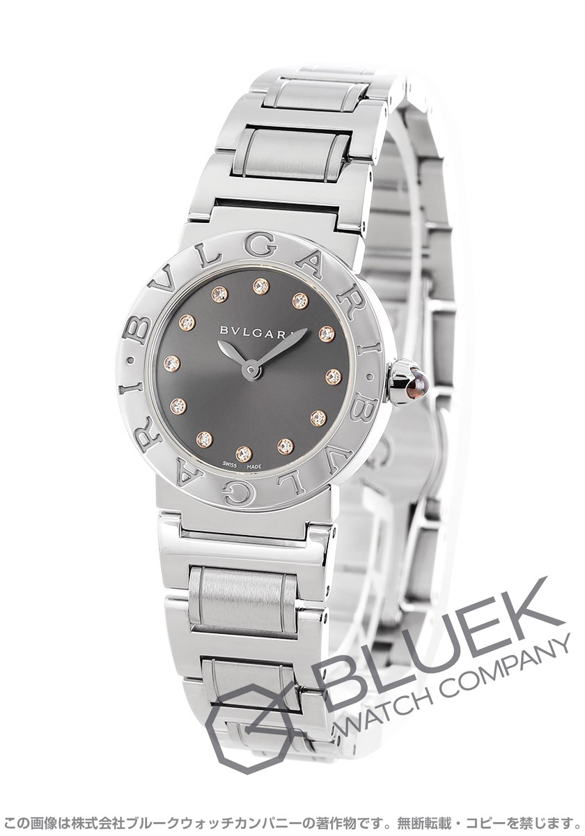 ブルガリ ブルガリブルガリ ダイヤ 腕時計 レディース BVLGARI BBL26C6SS12